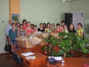 МБФ «Центр социальных проектов будущего» и «CityCommerce Bank» передали товары первой необходимости воспитанницам Ахтырского профессионального училища социальной реабилитации