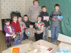 Воспитанники Центра социально-психологической реабилитации детей в Горловке получили помощь