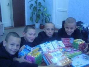 Помощь для воспитанников Харьковской общеобразовательной школы социальной реабилитации