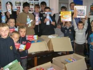 Помощь для детей из Васильковской школы-интернат