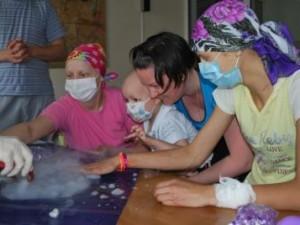 Праздник для детей из Киевской областной больницы!