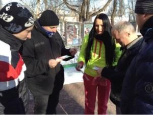 Программа «Внимание- Туберкулез» — стартовала раздача информационных бюллетеней в Киеве