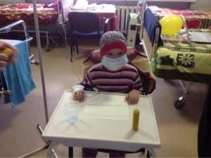 Праздник для детей отделения онкогематологии КООБ