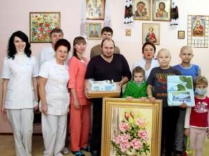 Шприценасос для Николаевской областной детской больницы