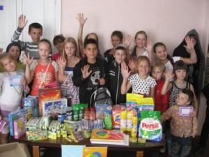 МБФ «Центр социальных проектов будущего» и CityCommerce Bank передали товары первой необходимости детям из Василькоской специализированной школы-интернат