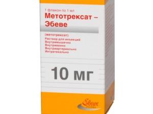 Метотрексат для лечения Даши Тронд
