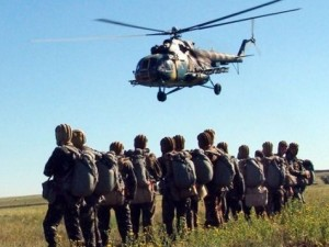 Помощь для бойцов ВЧ 2613, высоко мобильные десантные войска.