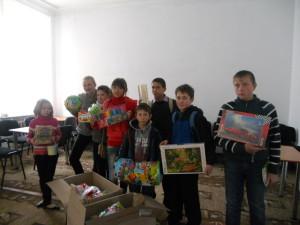 Товары первой необходимости для детей из Александрийской-общеобразовательной школы — интерната