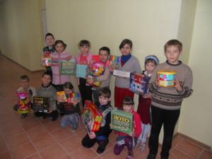 Помощь  для детей из Славянской  школы-интернат №41 Донецкого областного совета