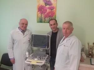 Ультразвуковой аппарат для Белоцерковского областного онко-диспансера