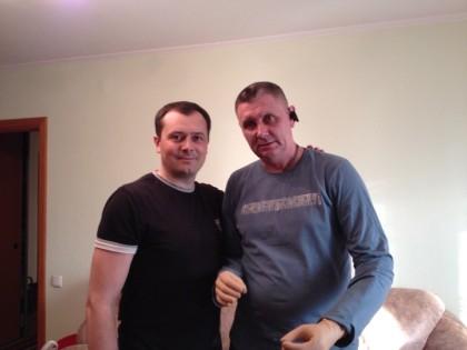Первичное протезирование рук для бойца 79 й бригады — Александра Терещенко.