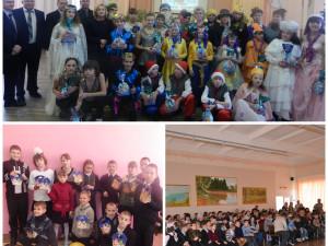 Фонд и UniCredit Bank поздравили школьников с Днем св. Николая
