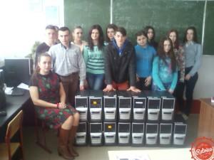 Системные блоки для Коломыйского профессионального лицея сферы обслуживания.