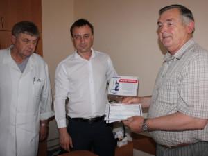 Новый английский пульсоксиметр «Heaco» для Николаевской областной детской больницы.