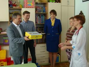 Помощь для лечения детей «Житомирской обл.детской больницы»