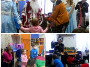 Праздник для детей в Киевской обл. клинической больнице