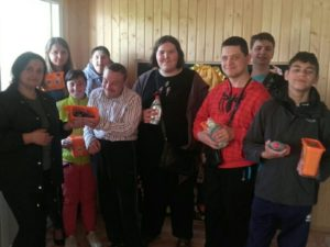 Помощь для детей Долинского центра социальных служб