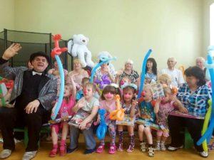 Праздник для детей Черкасского научно-реабилитационного центра