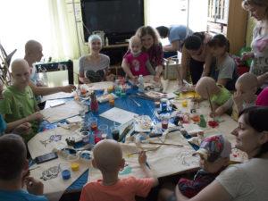 Праздник для детей Киевского городского онкологического центра