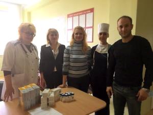 Помощь Житомирской областной детской клинической больнице