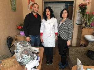 Помощь Хмельницкой областной детской больнице