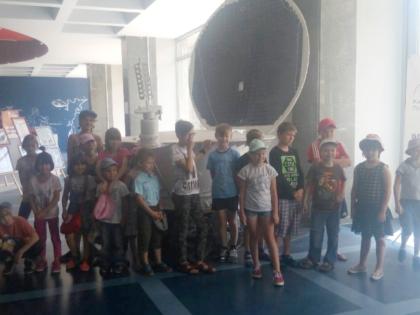 Посещение планетария детками из Святошинского дома-интерната