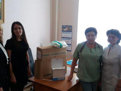 Помощь для лечения детей в Городской клинической больнице №8 г. Кривой Рог