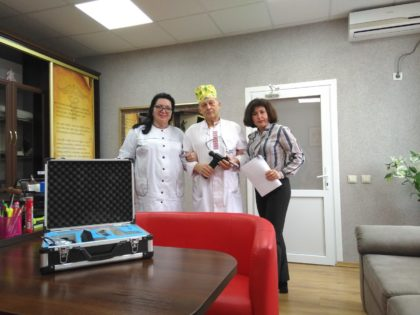 Помощь для Луганской областной детской клинической больницы в г.Лисичанск