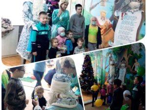 День Святого Николая в Житомирской областной детской клинической больнице